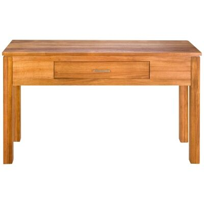 Harlington-II Blackwood Timber Hall Table, 130cm
