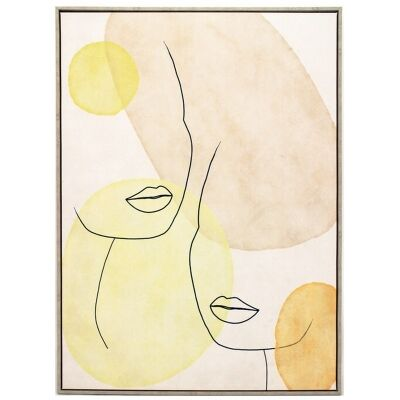 """Dreamsong"" Framed Canvas Wall Art Print, No.1, 110cm"