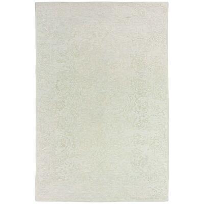 Hamptons Hand Loomed Oriental Wool Rug, 300x400cm, Mist