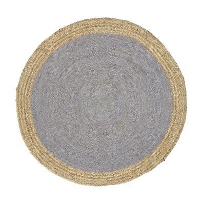 Hampton Jute Round Rug, 150cm, Taupe