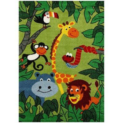 Nova Happy Jungle Kids Rug, 120x170cm
