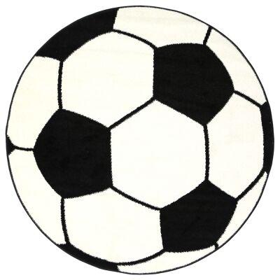 Nova Soccer Ball Round Kids Rug, 133cm