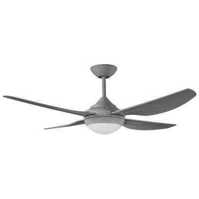 "Ventair Harmony II Indoor / Outdoor Ceiling Fan with LED Light, 122cm/48"", Titanium"
