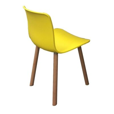 Heme Dining Chair, Yellow
