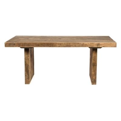 Swazi Solid Mango Wood Timber 185cm Dining Table