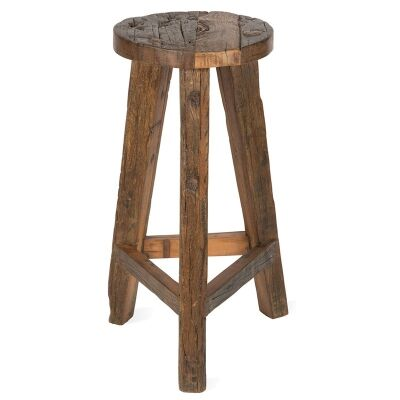 Aligarh Recycled Timber Bar Stool