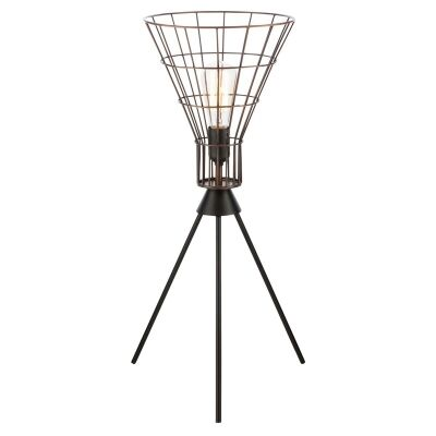 Nereus Iron Wire Torch Table Lamp