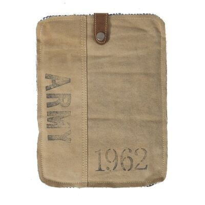 Army 1962 Cotton Ipad Cover