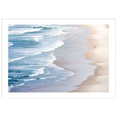 Serene Beach Photography Wall Art - Large