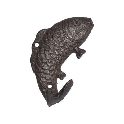 Cast Iron Fish Wall Hook, Type A