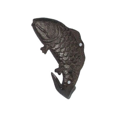 Cast Iron Fish Wall Hook, Type C
