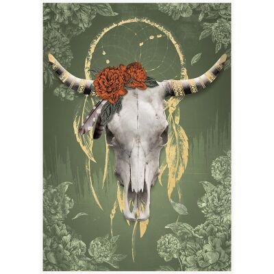 Tribal Canvas Art Print, Dreamer & The Catcher, 92.5cm