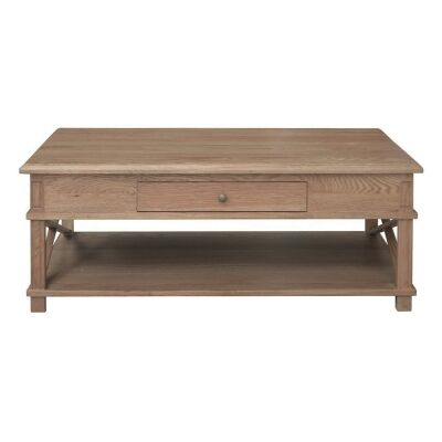 Phyllis Oak Timber Coffee Table, 120cm, Natural Oak