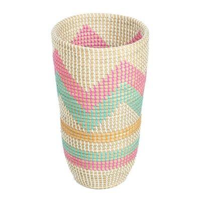 Tutti Fruiti Woven Seagrass Vase