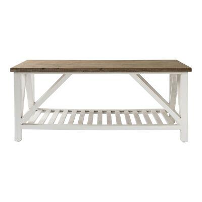 Capri Fir Timber Coffee Table, 120cm