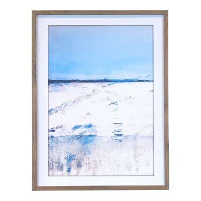 Sandy Beach Framed Wall Art Print, 83cm