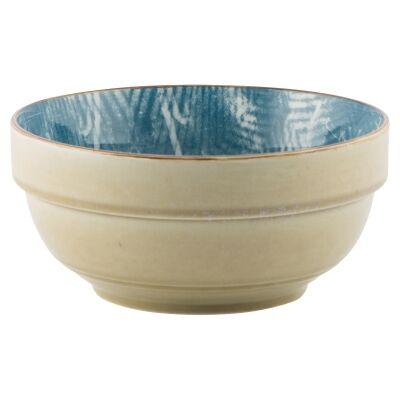 Murriverie Porcelain Deep Bowl, Cerulean
