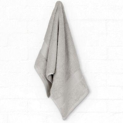 Algodon St Regis Cotton Hand Towel, Silver
