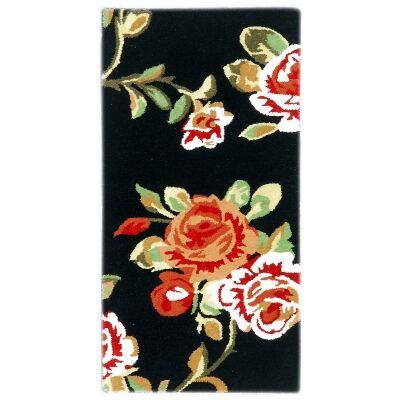 Botanical No.5054 Handmade Wool Rug, 120x60cm