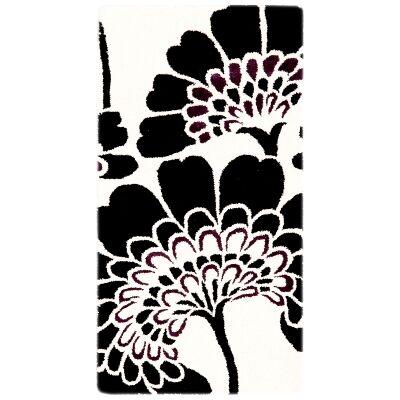 Botanical No.5058 Handmade Wool Rug, 120x60cm