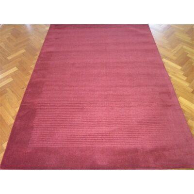 Elite Handwoven 100% Wool Runner Rug in Red - 80x300cm