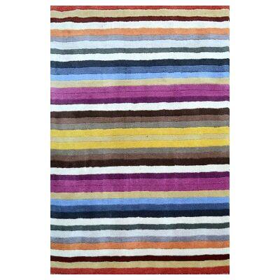 Elite Handwoven Modern Wool Rug, 160x110cm