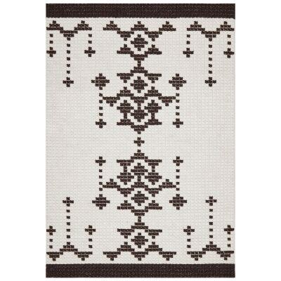 Hudson Mccoy Wool Rug, 155x225cm, Black