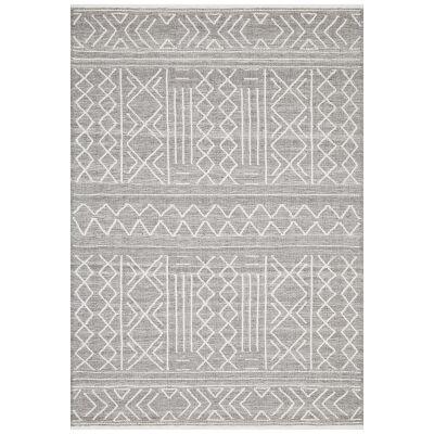 Hudson Ozzy Wool Rug, 155x225cm, Grey