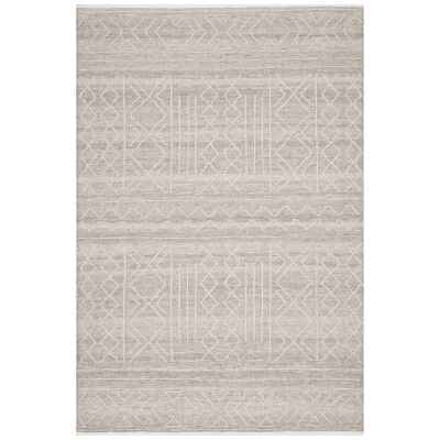 Hudson Ozzy Wool Rug, 155x225cm, Natural