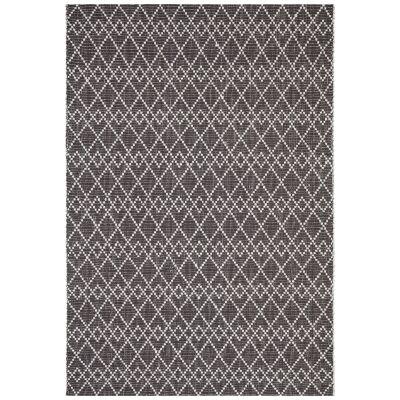 Hudson Jagger Jute & Wool Rug, 190x280cm, Black