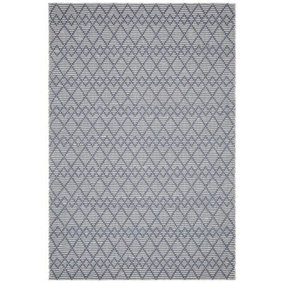 Hudson Jagger Jute & Wool Rug, 190x280cm, Denim