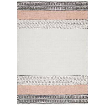Hudson Rosalie Wool & Cotton Rug, 190x280cm, Peach