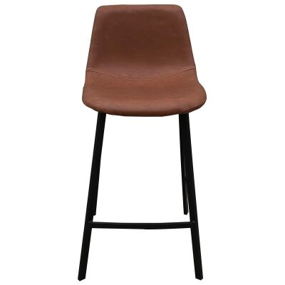 Hagen Faux Leather Counter Stool