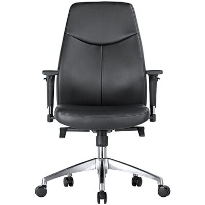 Hume PU Leather Executive Office Chair, Low Back
