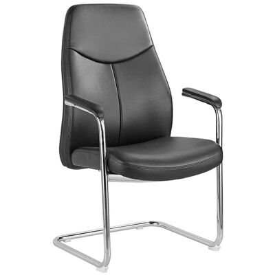 Hume PU Leather Visitors Chair