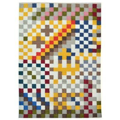 Sweden Handwoven Wool Rug, 160x230cm