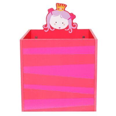 Little Princess Kids Storage Box, Pink