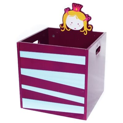 Little Princess Kids Storage Box, Purple
