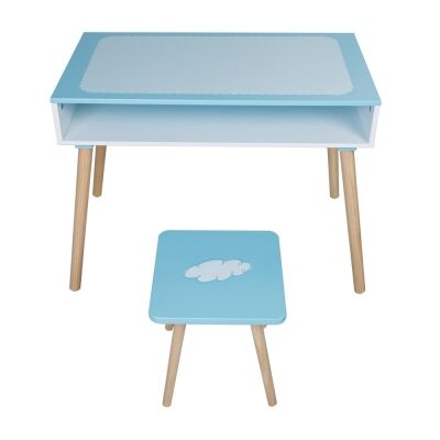 Milton 2 Piece Kids Desk & Stool Set