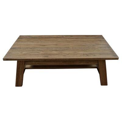 Harold Mountain Ash Timber Coffee Table, 125cm, Smoke