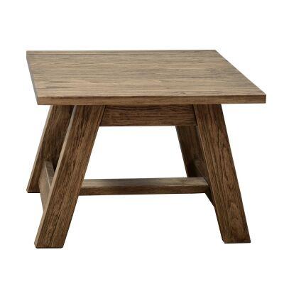 Harold Mountain Ash Timber Lamp Table, Smoke