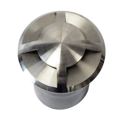 Abel IP67 Stainless Steel Inground Garden Light, 4 Way