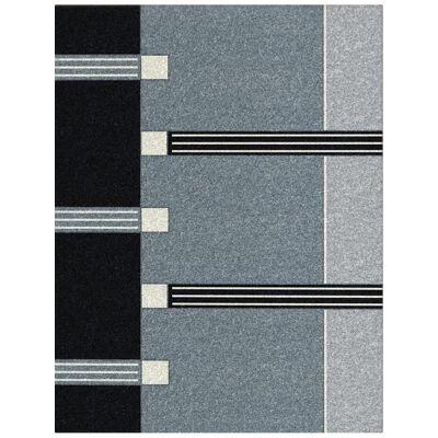Orlando Jacinta Modern Rug, 240x330cm, Black
