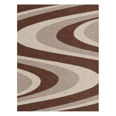 Orlando Azriel Modern Rug, 120x170cm, Brown