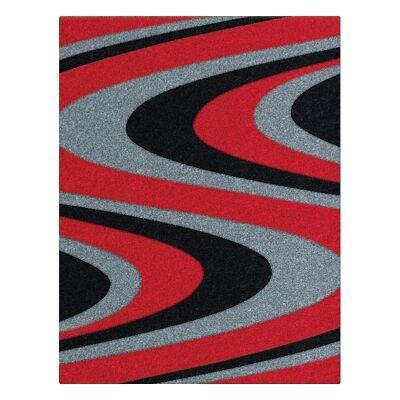 Orlando Azriel Modern Rug, 80x150cm, Red