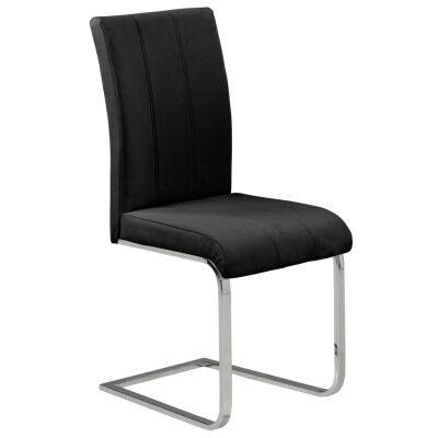 Inno PU Leather Dining Chair, Black