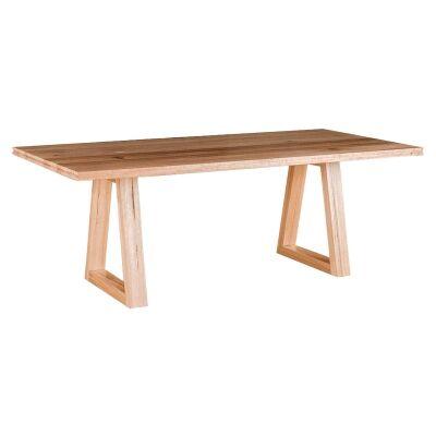 Irsia Tasmanian Oak Timber Dining Table, 210cm