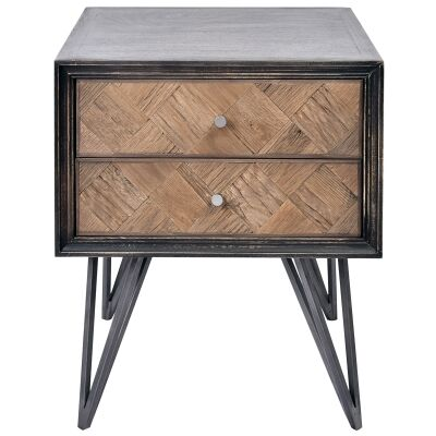 Anris Wooden Side Table