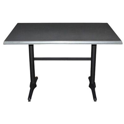 Mestre Commercial Grade Dining Table, 120cm, Granite / Black