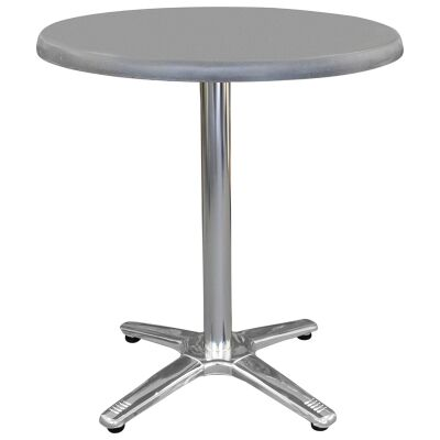 Amolaro Commercial Grade Round Dining Table, 70cm, Granite